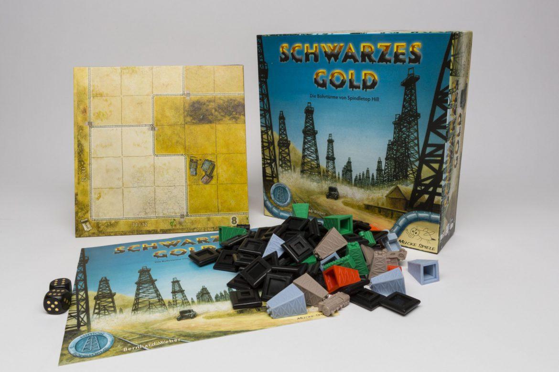 Mücke Spiele: Schwarzes Gold
