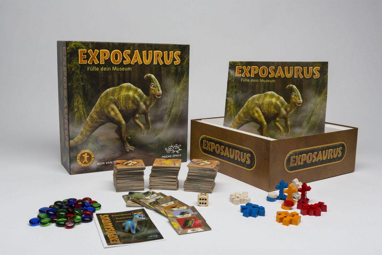 Mücke Spiele: Exposaurus